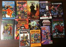 Huge Lot of 12 TPB HC W/ ULTIMATE X-MEN # 1,AVENGERS & MORE!! AVG NM- $240 COVER