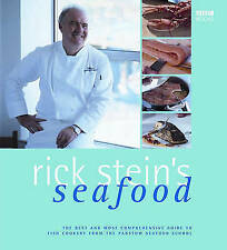 """VERY GOOD"" Stein, Rick, Rick Stein's Seafood, Book"