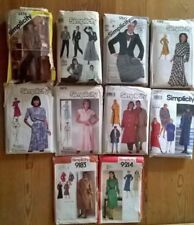 Simplicity 1970s Collectable Sewing Patterns
