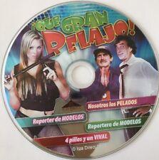 4 PELICULAS QUE GRAN RELAJO De Puras Sexy Comedias DVD No Case No Art