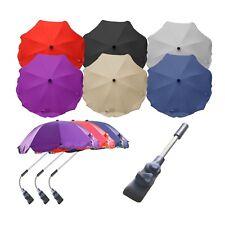 Universal Stroller Pram Parasol Umbrella Canopy Triple Adjust Fully Universal