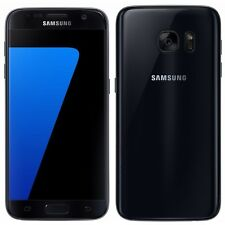 Unlocked AT&T Cricket H2O Samsung S7 SM-G930AZ G930A Black Smartphone Good