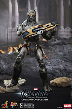 Hot Toys The Avengers: Chitauri Foot Soldier 1/6 Sixth Scale Figure NEW Marvel