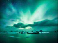 PHOTO ARCTIC AURORA BOREALIS NORTHERN LIGHTS LARGE ART PRINT POSTER LF1677