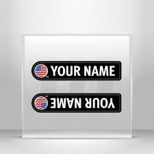 Stickers Sticker Bicycle mountain bike name flag USA Vehicle A19 3X659