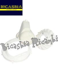 7753 - CUFFIA MOTORE + COPRIVOLANO + VENTOLA BIANCO VESPA 150 VBB1T VBB2T