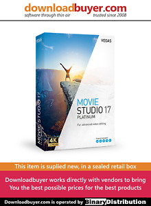 MAGIX VEGAS Movie Studio 17 Platinum - [Boxed]
