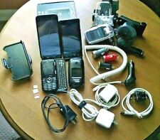 Cell Phones & Accessories Lot - 4 Pre-Owned Phones, Chargers, Case, New Avantree