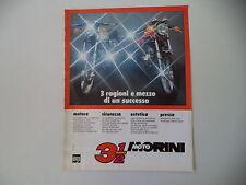 advertising Pubblicità 1977 MOTO MORINI 3 1/2 350