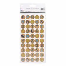 Letter & Number Cork 3D Stickers 100 Pack - Simply Creative