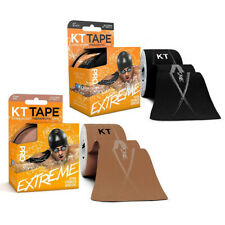 """KT Tape Pro EXTREME Therapeutic Sports Tape Roll, 20 x 10"""" Strips, Choose Color"""