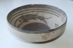 ANCIENT INDUS VALLEY POTTERY BOWL 1000-1500 BC