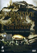 Explosive War La Montagna Che Esplode La Grande Guerra DVD ISTITUTO LUCE