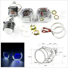 "Car 2.5"" Bi Xenon HID Projector Lens With Blue Demon Eyes For H1 H4 H7 Retrofit"