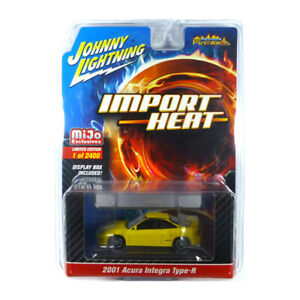 Johnny Lightning JLCP7251 Acura Integra Type-R Jaune Maßstab 1:64 Neuf !°