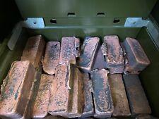 Copper Ingots - Roughly 2lb Each