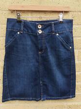 Women's Marks and Spencer Denim Skirt Size 10 Short High Waist