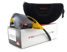 New Bolle 5th ELEMENT PRO Sunglasses | 12070 Matte Yellow / TNS Gun Oleo AF Lens