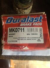 FORD F150 F250 Expedition rear brake pads DURALAST MKD711 new never installed