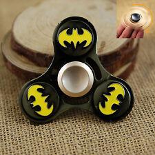 Batman Aluminium Durable Hand Finger Spinner Fidget Desk Toy Focus ADHD Autism