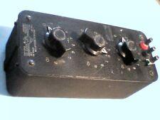 GENERAL RADIO 1432-A PRECISION OHM DECADE RESISTOR BOX S/N: 2781