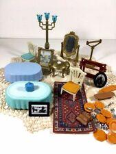 Vintage PLAYMOBIL geobra dollhouse furniture & accessories LOT!