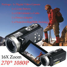 1080P Full HD 24MP Digital Video 3'' TFT LCD Camcorder Camera DV HDMI 16X ZOOM