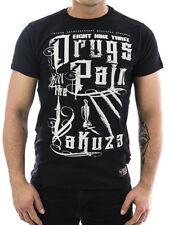Yakuza Shirt Drugs 11042 schwarz Neu Männer - Herren T-Shirt gR XXL