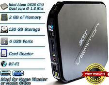 Acer Veriton N282G Intel D525 1.8Ghz 2GB RAM 120GB HDD small tiny mini desktop