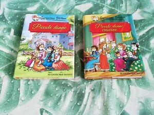 2 libri Piccole Donne e Piccole Donne Crescono i classici geronimo stilton