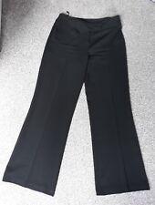 Ladies black wide leg trousers by Wallis size UK 12