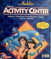 Disney's Aladdin: Activity Center ( 1994) new-sealed pc