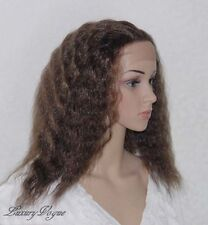 Handsewn Synthetic FULL LACE FRONT Kinky Wigs 9118#4