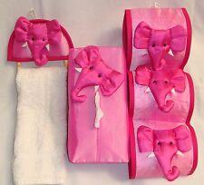 Handmade 3 piece Elephant Bathroom Set many colours Brand New!!