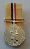 Court Mounted Iraq Op Telic Full Size Medal, Ribbon, Replacement, Army, Military