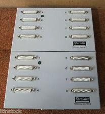 2 x SPECIALIX 00-029000-A TERMINAL ADAPTOR 8 DB25F 8 Female Db25 Ports