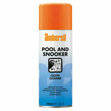 Ambersil Pool and Snooker Table Cloth Cleaner 8 X 400ml Cans - a Can