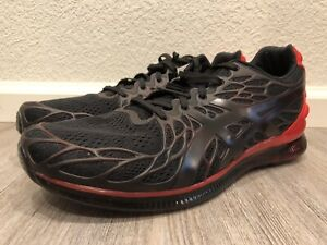 Asics Gel-Quantum Infinity 2 Running Shoes Black / Red 1021A187 Men's Size 10