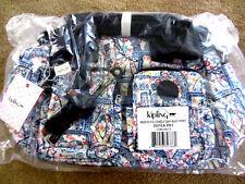 KIPLING HB3510 412 DEFEA PRINT Handbag Shoulder Crossbody Lovely Day Navy $124