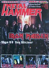 METAL HAMMER 6 2000 Iron Maiden Slipknot Sentenced Lefay New Bomb Turks Immortal