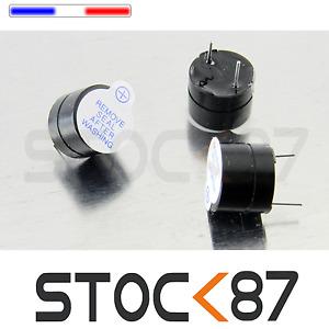 1573# 2 à 20pcs Buzzer Actif 5V Bip continu. Arduino, Raspberry, Alarme, DIY