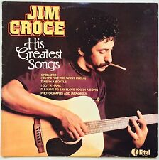 JIM CROCE His Greatest Songs 1980 OZ K-Tel EX/VG++