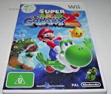 Super Mario Galaxy 2 Nintendo Wii PAL *Complete*  Wii U Compatible