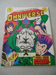 OMNIVERSE #2, 1979, ALTERNITY ENTERPRISES, MARK GRUENWALD, JERRY ORDWAY Cover VF