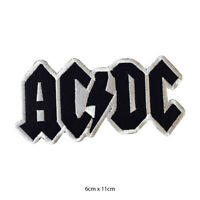 AC DC Music Band Embroidered Patch Iron on Sew On Badge For Clothes