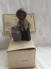 "All God's Children - ""Moses"" Figurine #1506 Signed By Martha H. Edition #93 Nib"