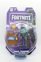 "Fortnite Jazwares 4"" Action Figure Series 2 TOXIC TROOPER Solo Game Mode NIP!"