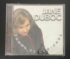 Todos Os Caminhos by Jane Duboc AUDIO CD 15 Tracks NEW SEALED