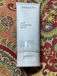 Proactiv Deep Cleansing Wash Salicylic Acid Acne Medication 9 oz Sealed Exp 2019