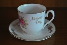 ROYAL SUTHERLAND Gorgeous 'Mothers Day' Cup and Saucer Duo
